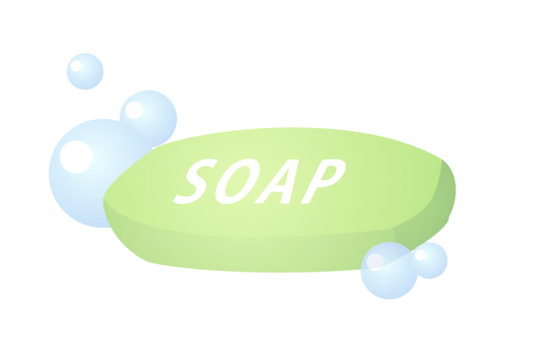 抗菌石鹸(薬用石鹸)に効果はないと米食品医薬品局は言っている