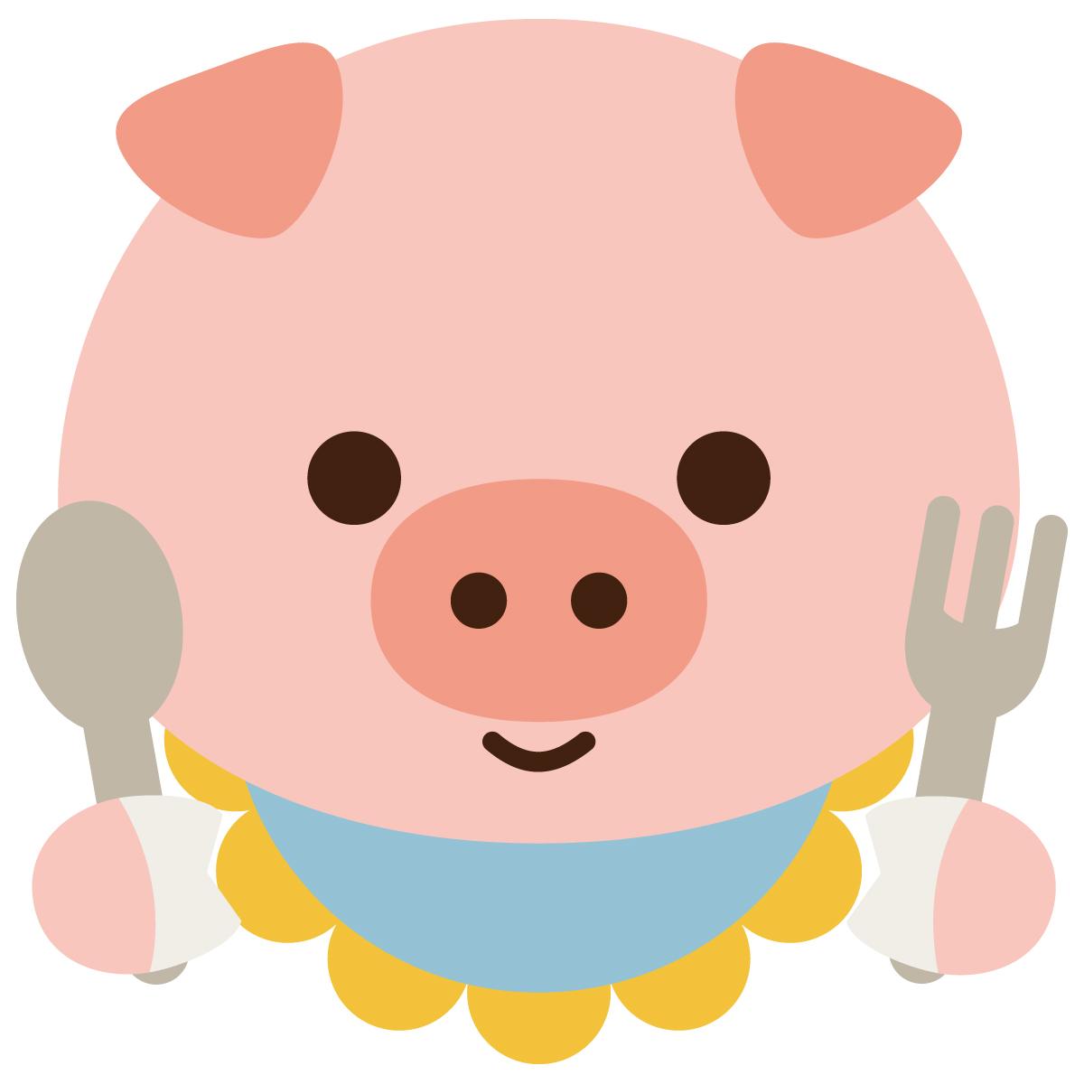 [危険] コンビニ弁当で奇形豚が続出。顔が2つの豚??