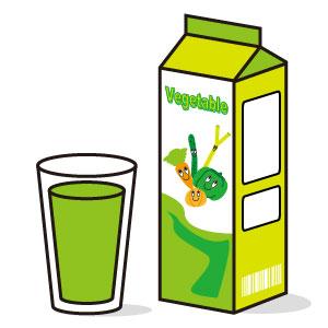 野菜ジュースの主成分は糖質。糖尿病に気を付けて