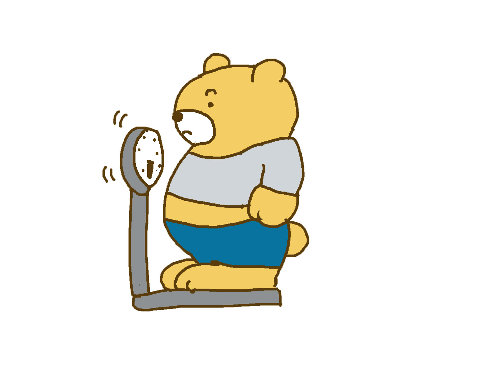 お腹に中性脂肪(体脂肪)が付く原因は油(脂)だけではない