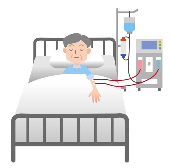 [医療ミス]人工透析の途中で針が抜け、400mlの出血