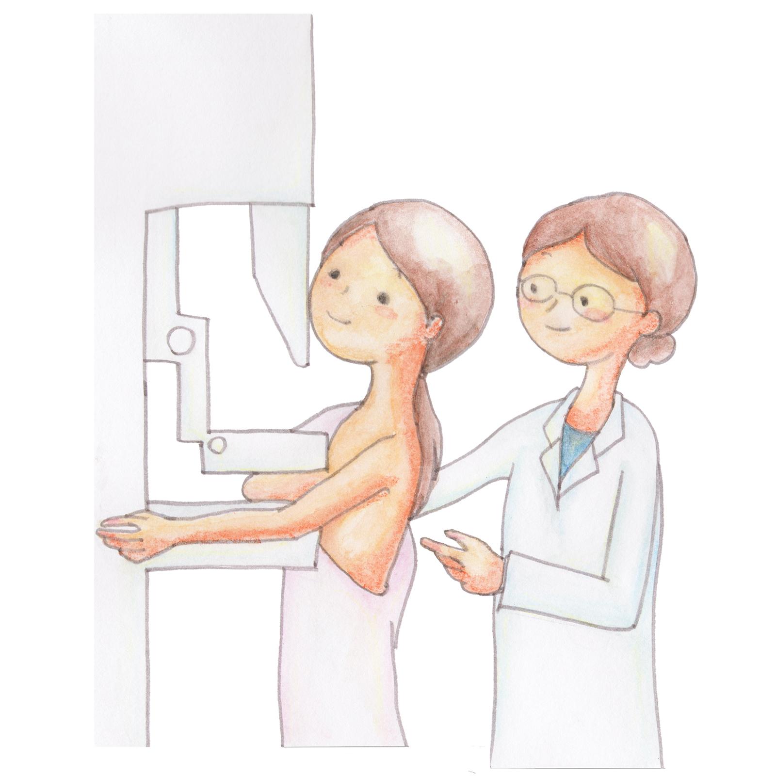 乳がん体験記 森さん編②マンモグラフィーでは癌は発見されず