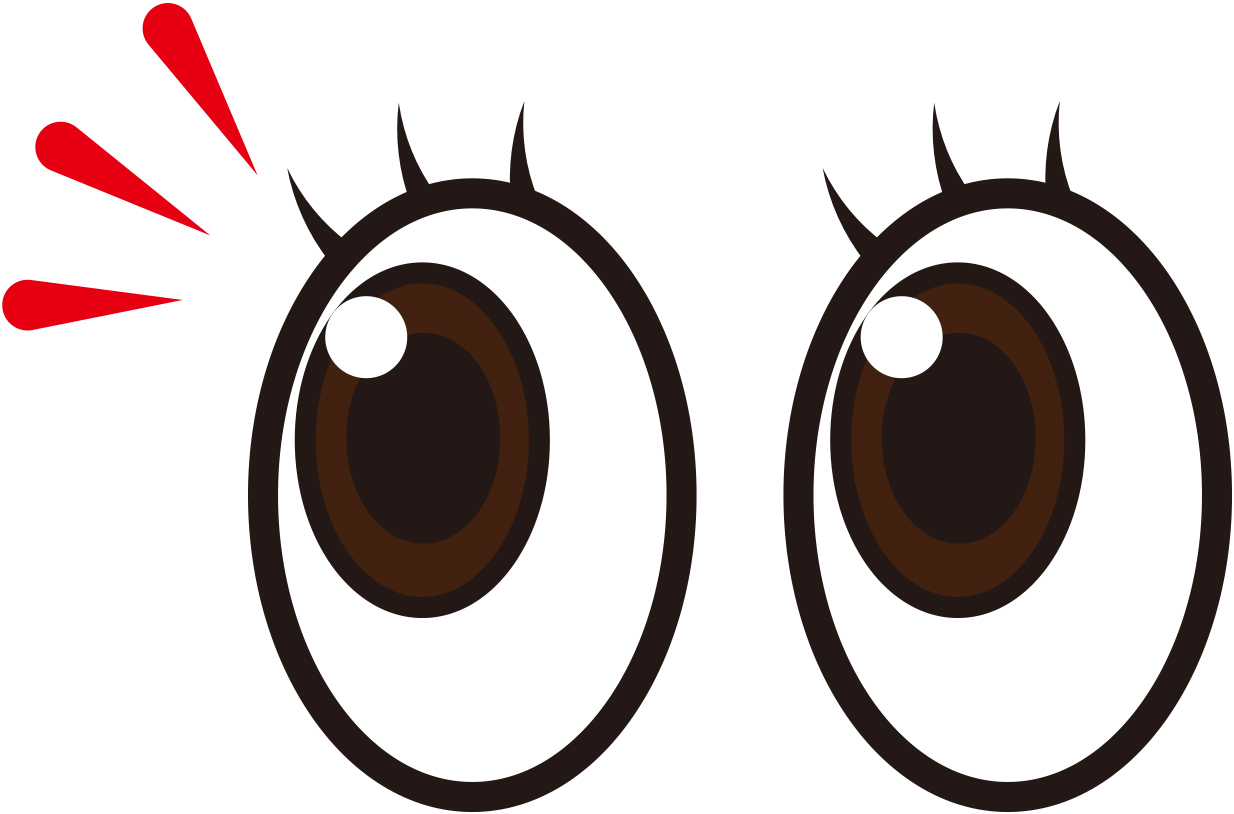 目の体操をすると視力が良くなるというのは嘘。むしろ危険