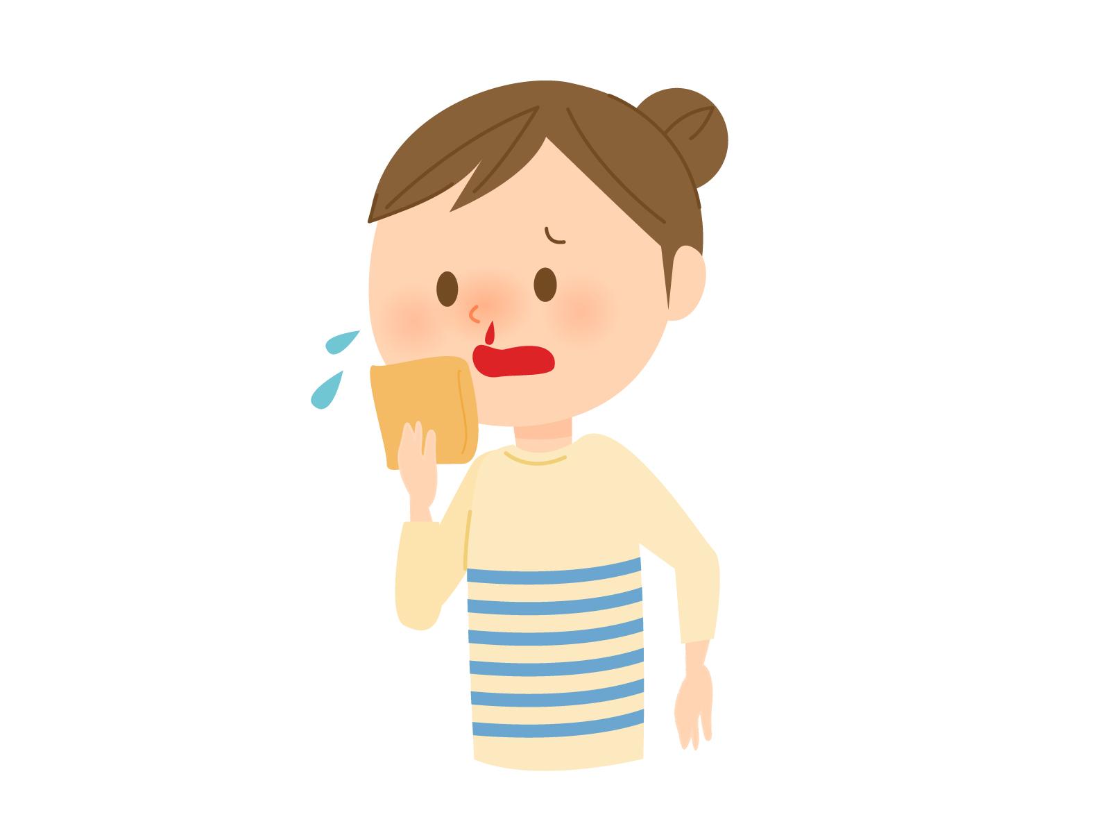 卵巣がん治療で使った抗がん剤の副作用のせいで歯茎から出血