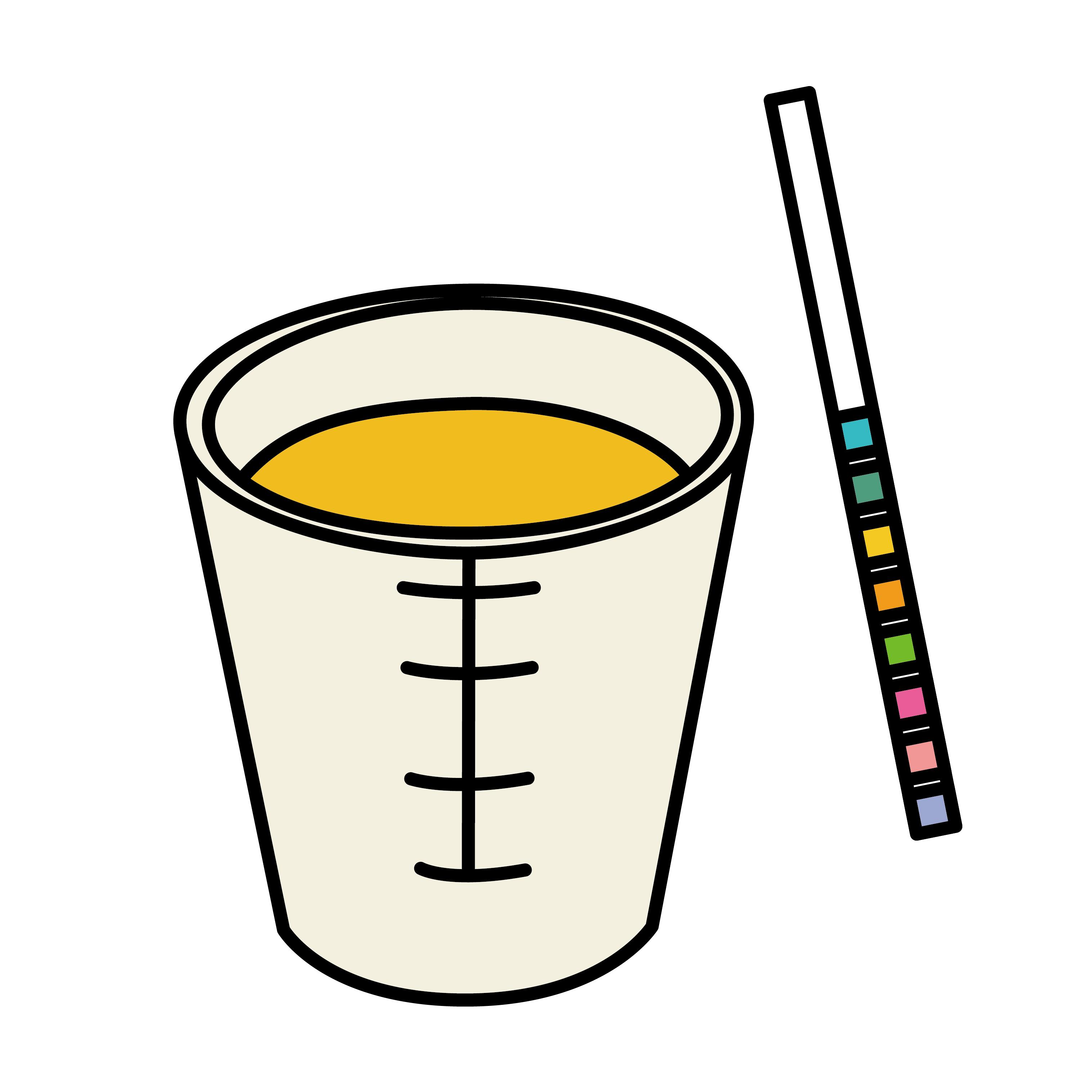 高校の尿検査で蛋白が3+。腎不全の可能性が濃くなる