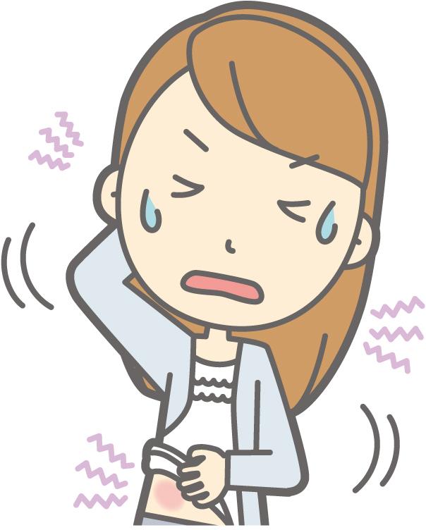胃のバリウム検査前のブスコパン注射でアレルギー反応を発症