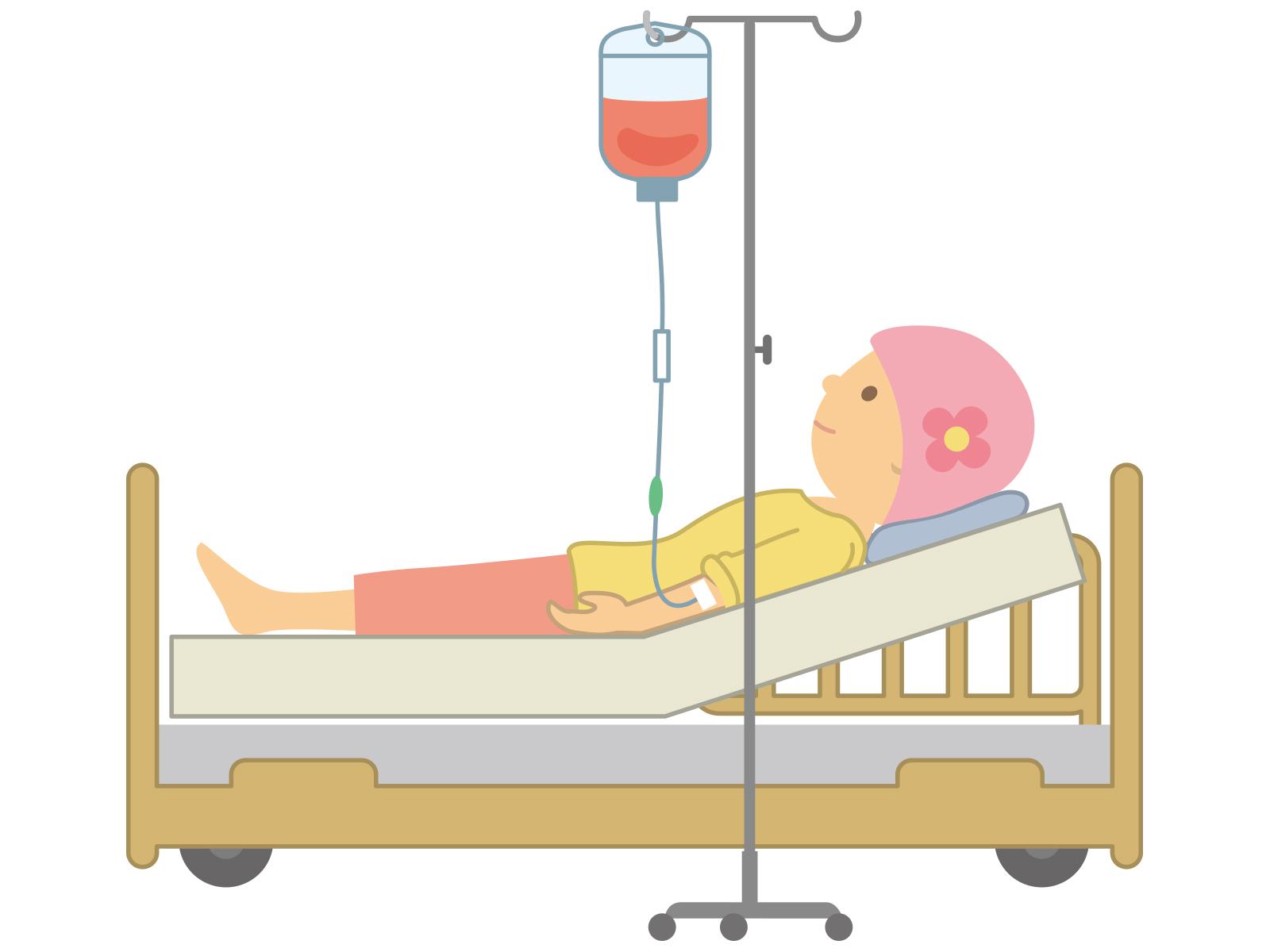 子宮頸がんの抗がん剤治療が始まる。抗がん剤で二日酔い?