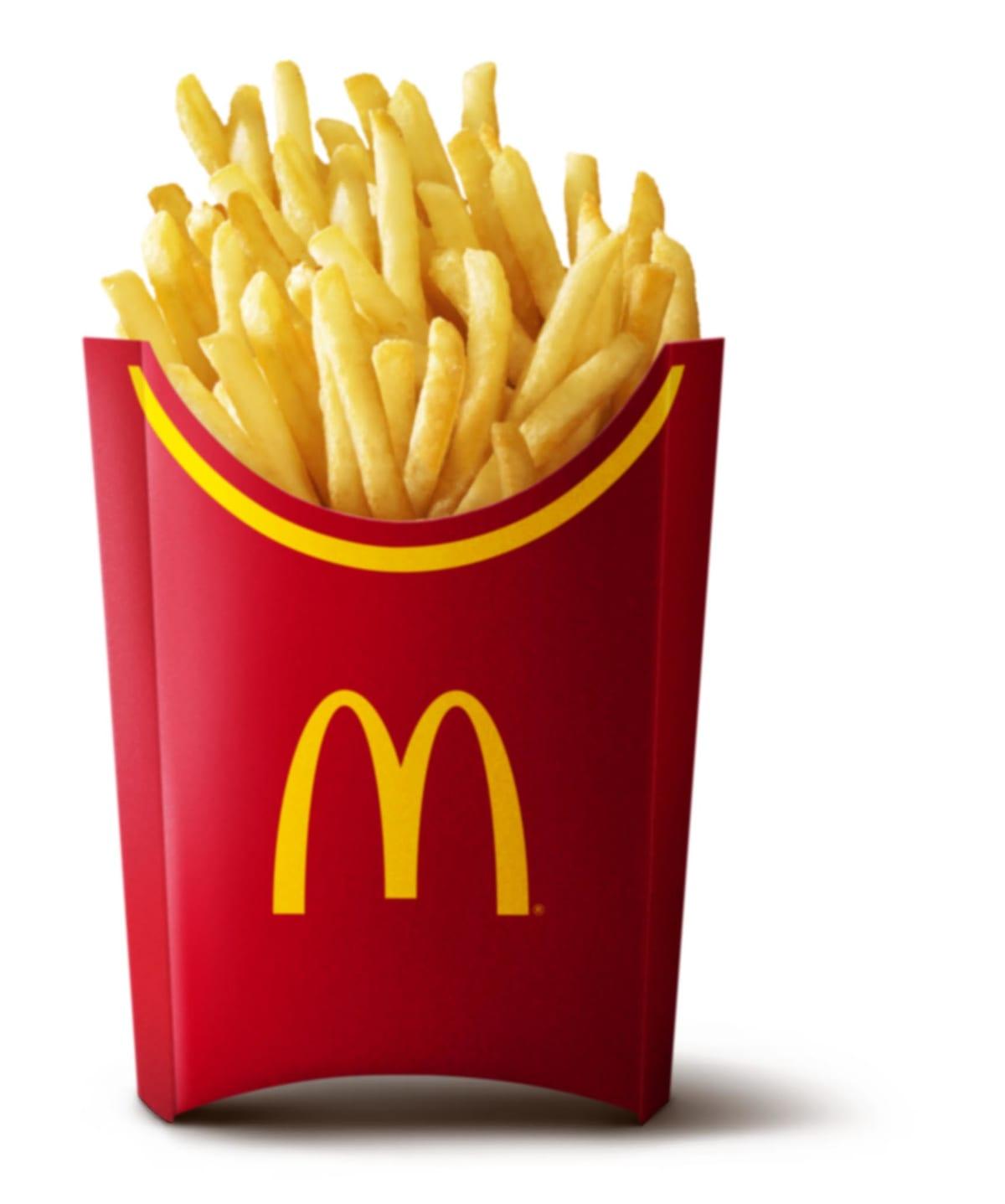 マクドナルドのフライドポテトのトランス脂肪酸を検査しました